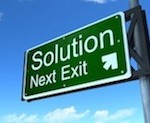 Solution sign 173px wide