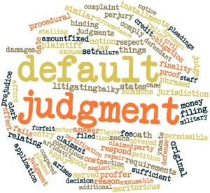 Default Judgment | Bankruptcy Attorney Melbourne, FL